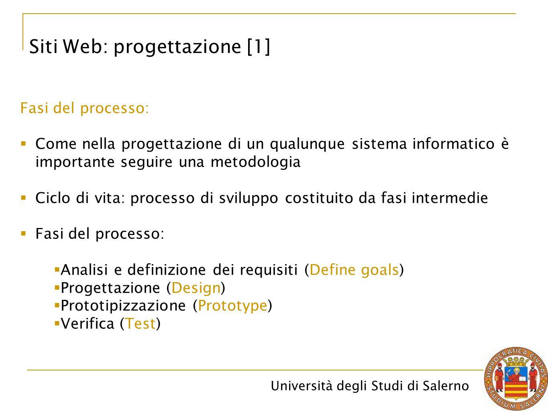 Siti Web: progettazione [1]